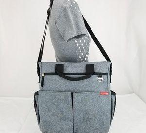 Skip Hop Messenger Crossbody Diaper Bag Padded Shl